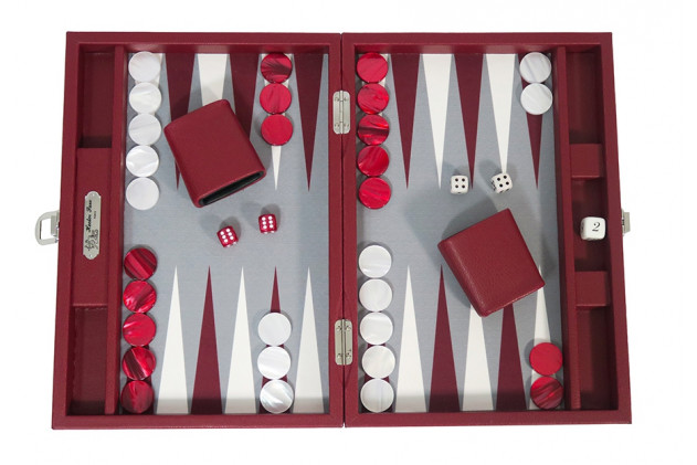 Basile - Backgammon buffalo canvas medium Morgon