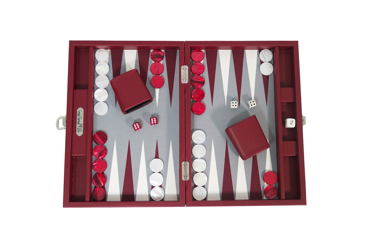 Basile - Backgammon toile buffle medium Morgon