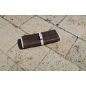 Taline - Jewelry Case Alligator effect leather Taupe