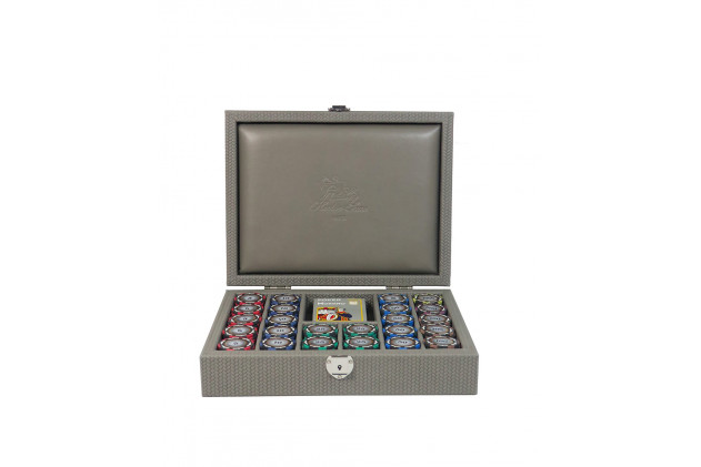 Poker set couture leather