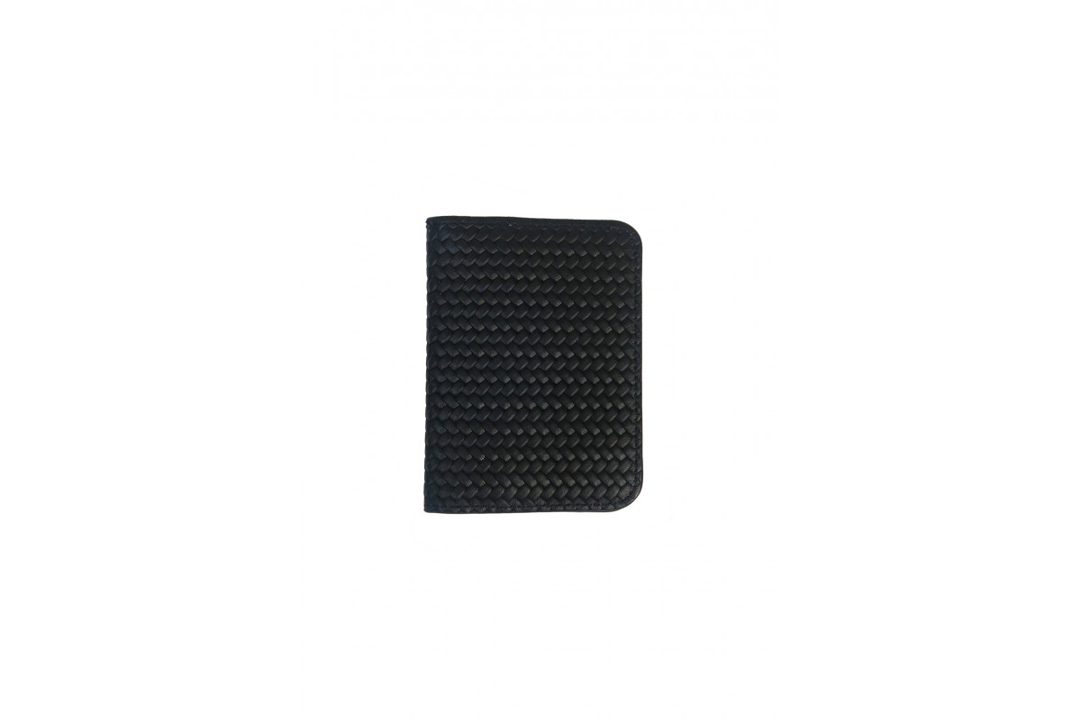 Paul - Card Holders Couture leather Black