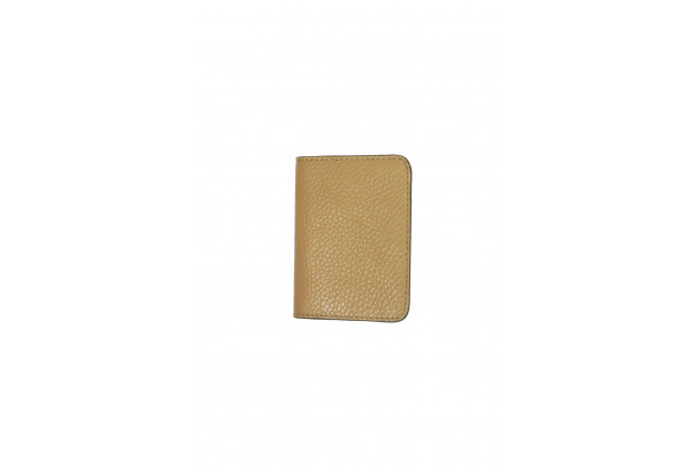 Paul - Card Holders Buffalo leather Cognac