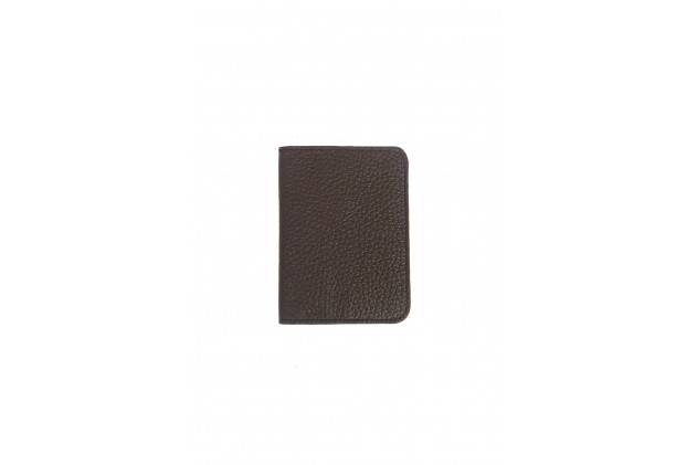 Paul - Card Holders Buffalo leather Chocolat