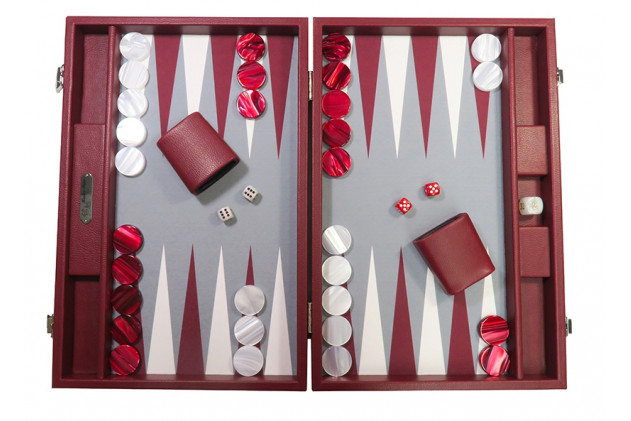Basile - Backgammon buffalo canvas large Morgon