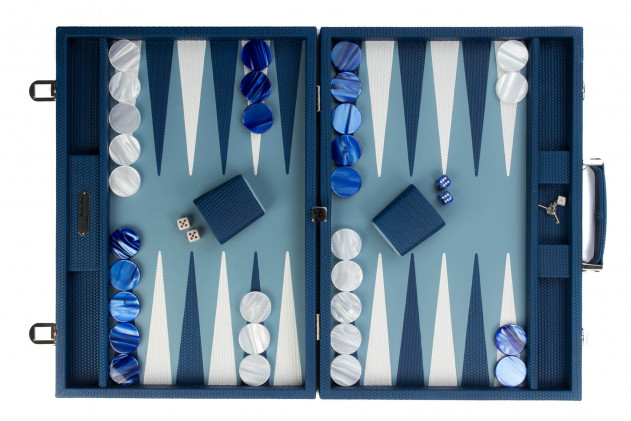 Camille - Backgammon couture leather competition Gitane