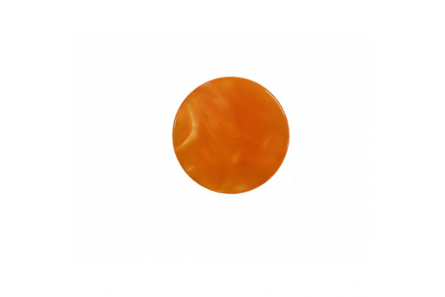 Pion de backgammon acétate 31mm orange
