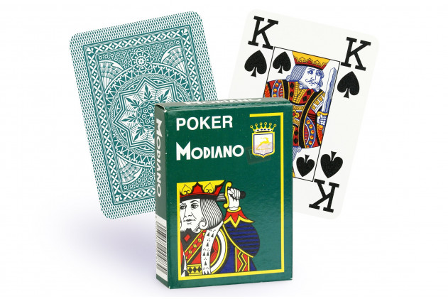 Card games Modiano green