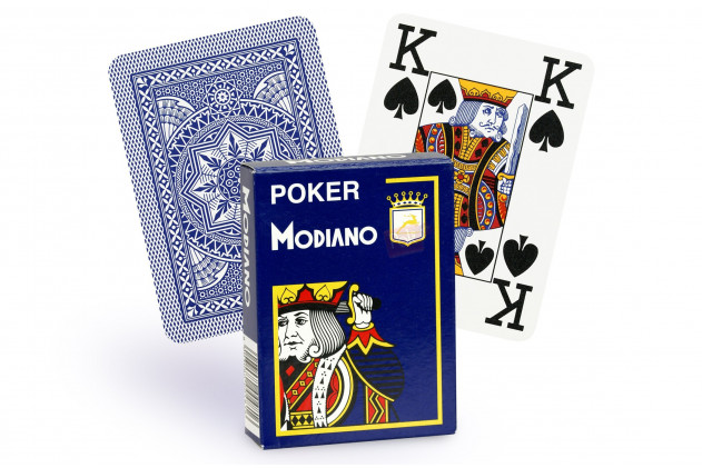 Jeu de Cartes Modiano bleu