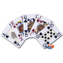 Jeu de Cartes Modiano Marron