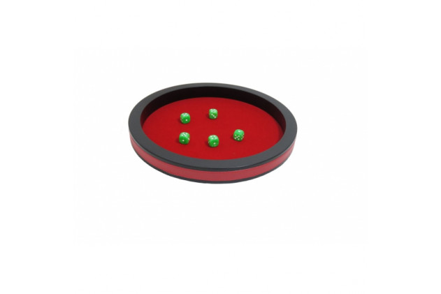 Dices board small size Red