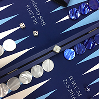 Jetons backgammon sur mesure 14